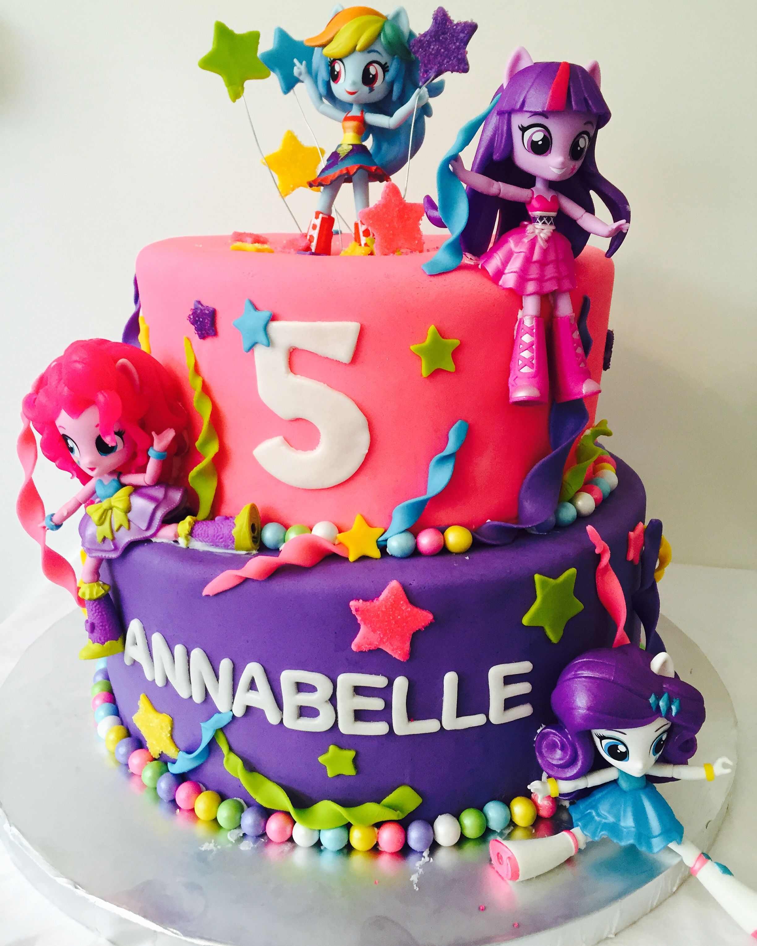 My Little Pony Equestrian  Cake by Lisa @ The Cake Stand in Ventura Ca