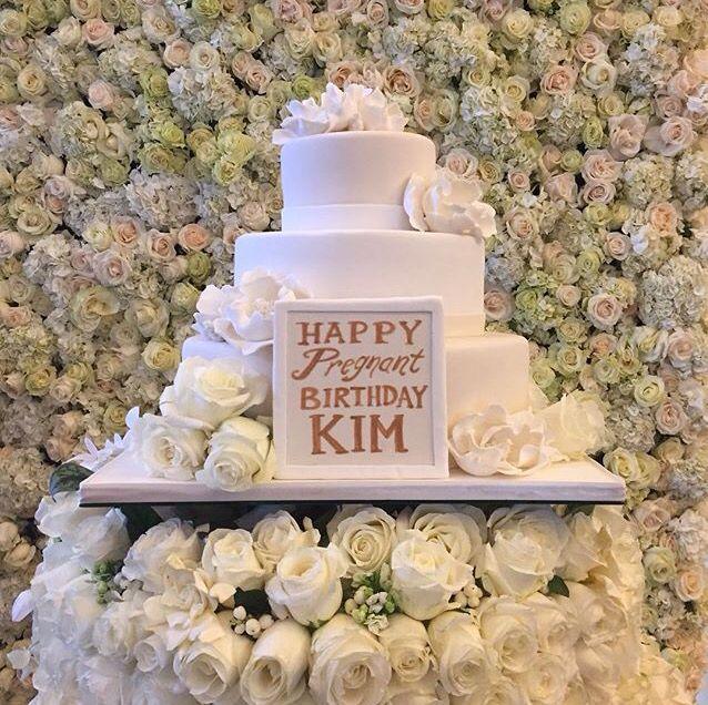 Birthday Cake - Kim Kardashian