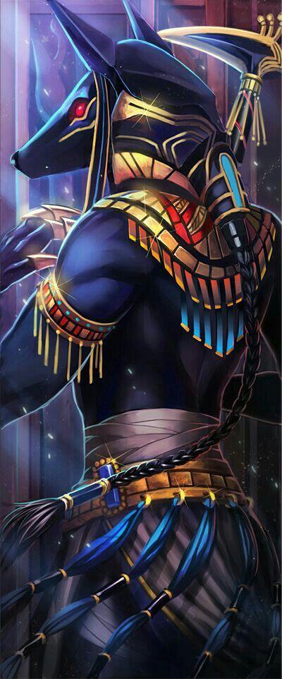 Anubis Egyptian Art Anubis