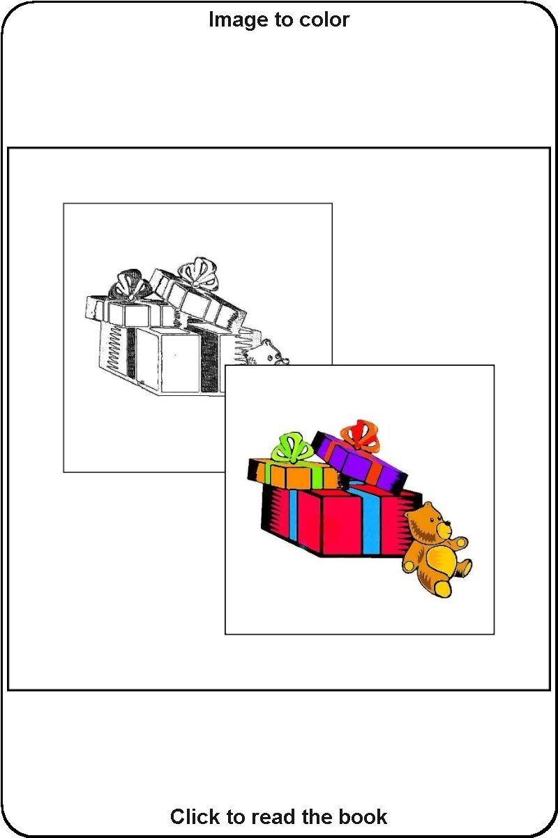 017 Sample Picture From The Book Christmas Coloring Book Christmas Coloring Books Coloring Books Toddler Coloring Book