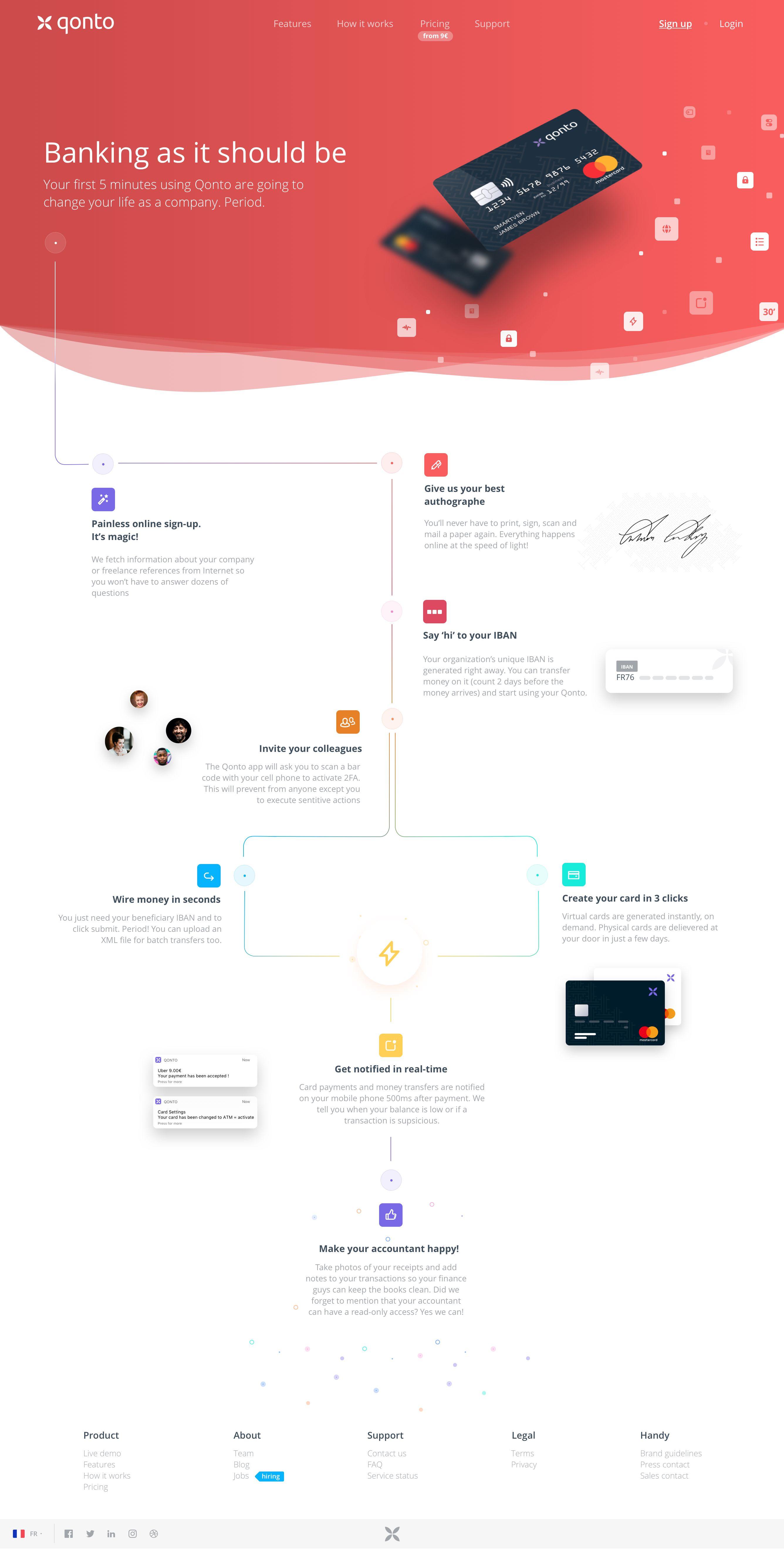 4a howitworks   web design   Pinterest   Ui ux, Website and User ...