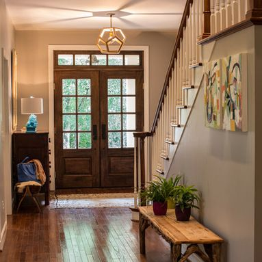 Double Front Entry Door Home Design Ideas, Pictures, Remodel and Decor
