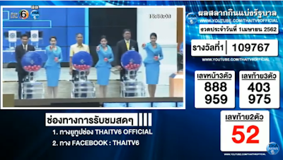 Thailand Lottery live results 01 April 2019 Saudi Arabia on