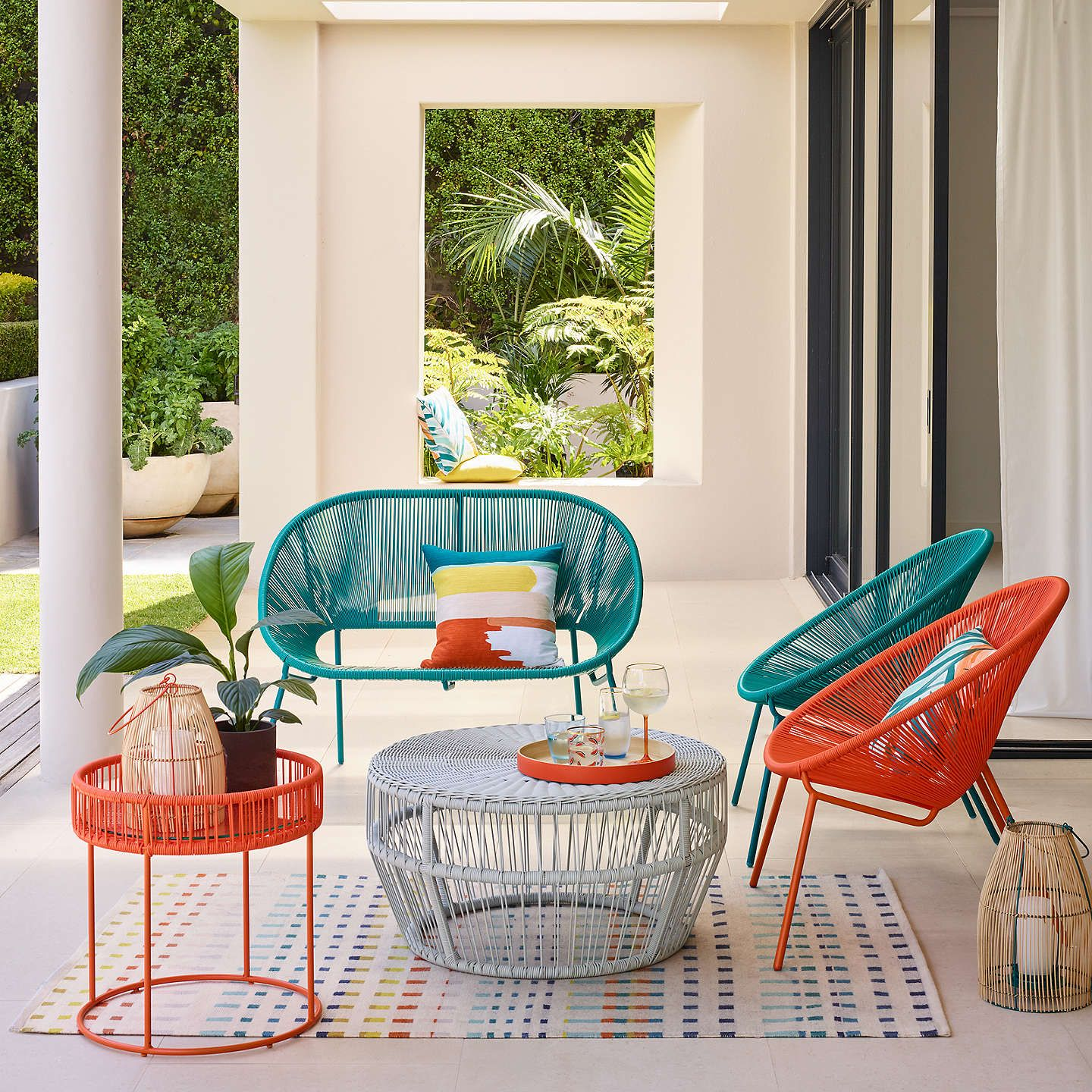 House By John Lewis Salsa Garden Chair Set Of 2 French Grey With Images Outdoor Garden Furniture Affordable Outdoor Furniture Used Outdoor Furniture