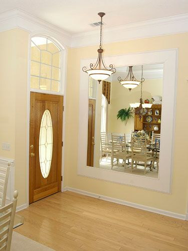 Decorate A Blank Wall In Any Room With Images Feng Shui Mirrors Mirror Placement Feng Shui