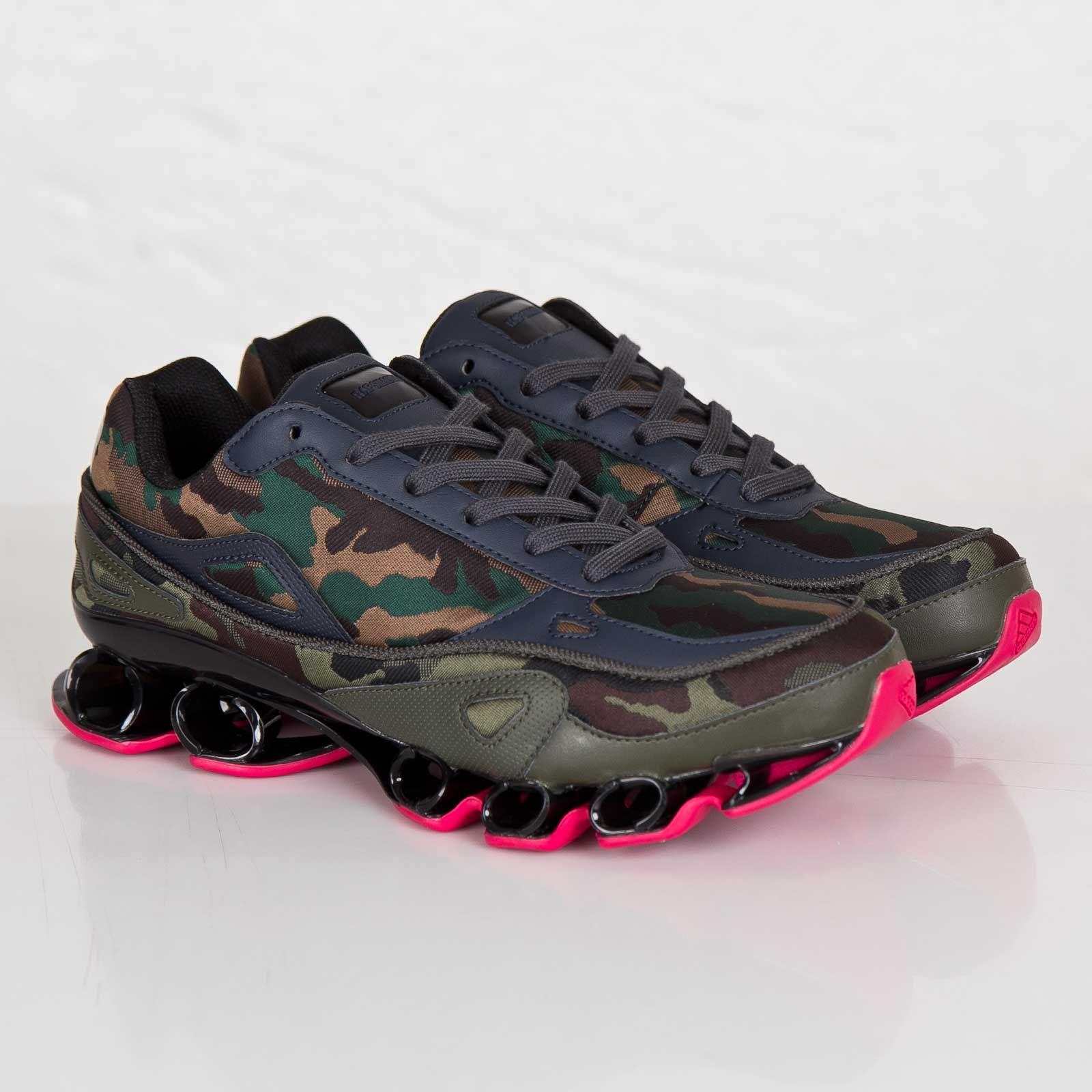 Adidas x Raf Simons bounce sneakers