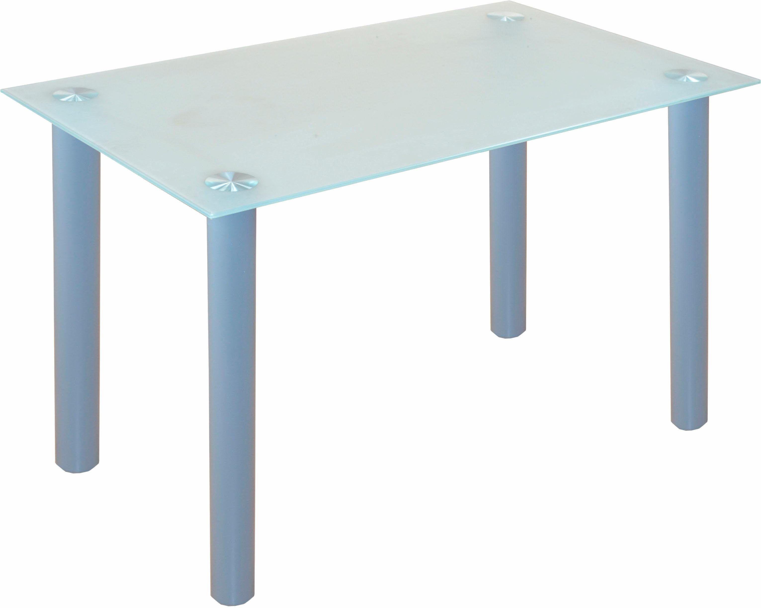 Glastisch Wohnzimmer ~ Glastisch grau pflegeleichte oberfläche yourhome jetzt bestellen