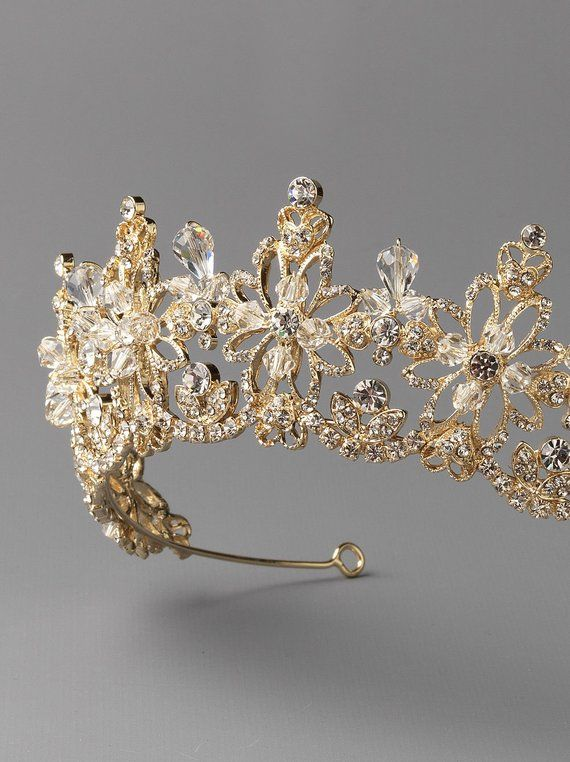 Gold Bridal Crown 2b0db2dc06a8