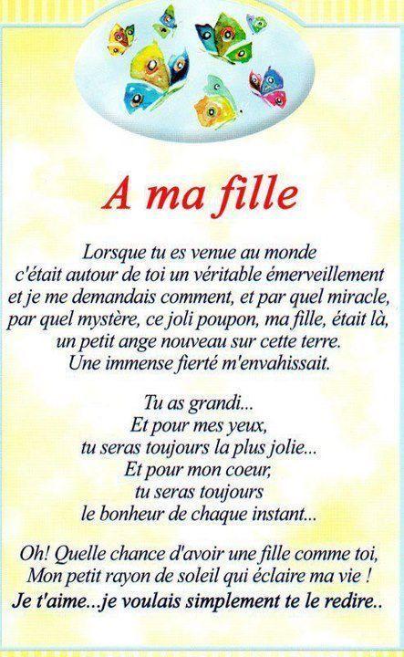 Poeme Pour Ma Belle Fille : poeme, belle, fille, Meilleures, Idées, Citation, Fille, Citation,, Maman, Enfants