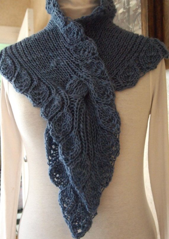 Scarf Knitting Pattern - Ruffle | Pinterest | Bufanda larga, La ...