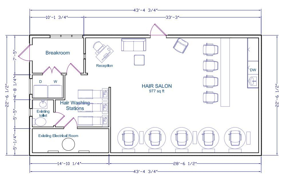 Hair Salon Floor Plan Hair Salon Business Plan Hair Salon Hair Salon Interior