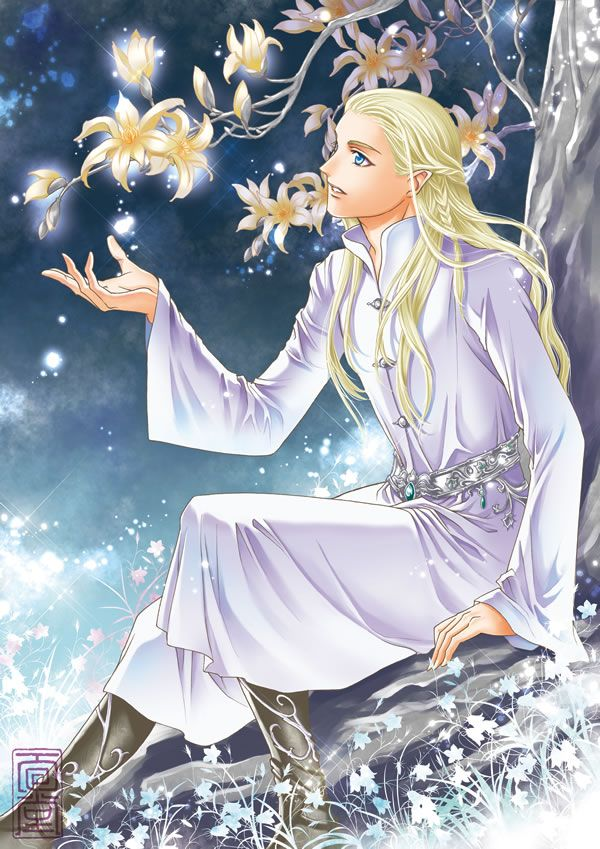 """Legolas from """"Lord of the Rings"""" - Art by めんめん on Pixiv ..."""