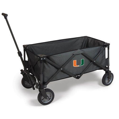 University of Miami Adventure Portable Utility Wagon w/Digital Print ...