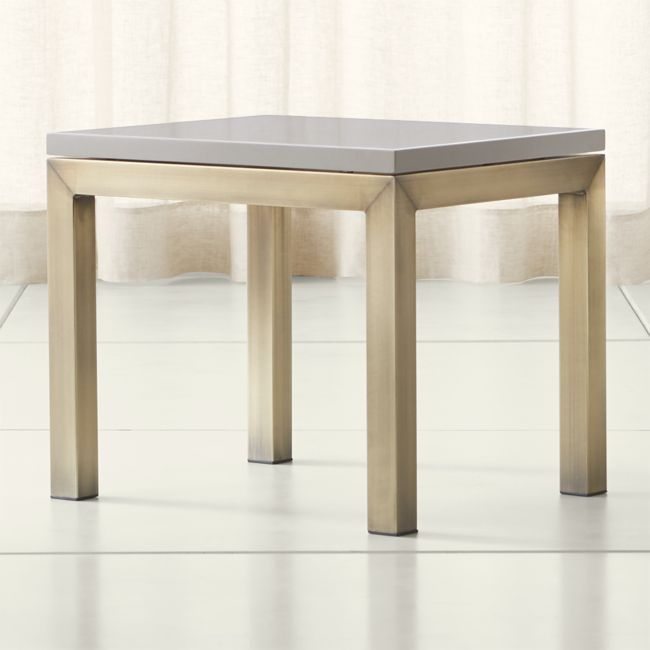 Crate And Barrel Lakin Coffee Table