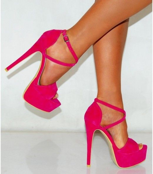 pink high heels 06 | Cheap Cute Shoes For Women | shoes ...
