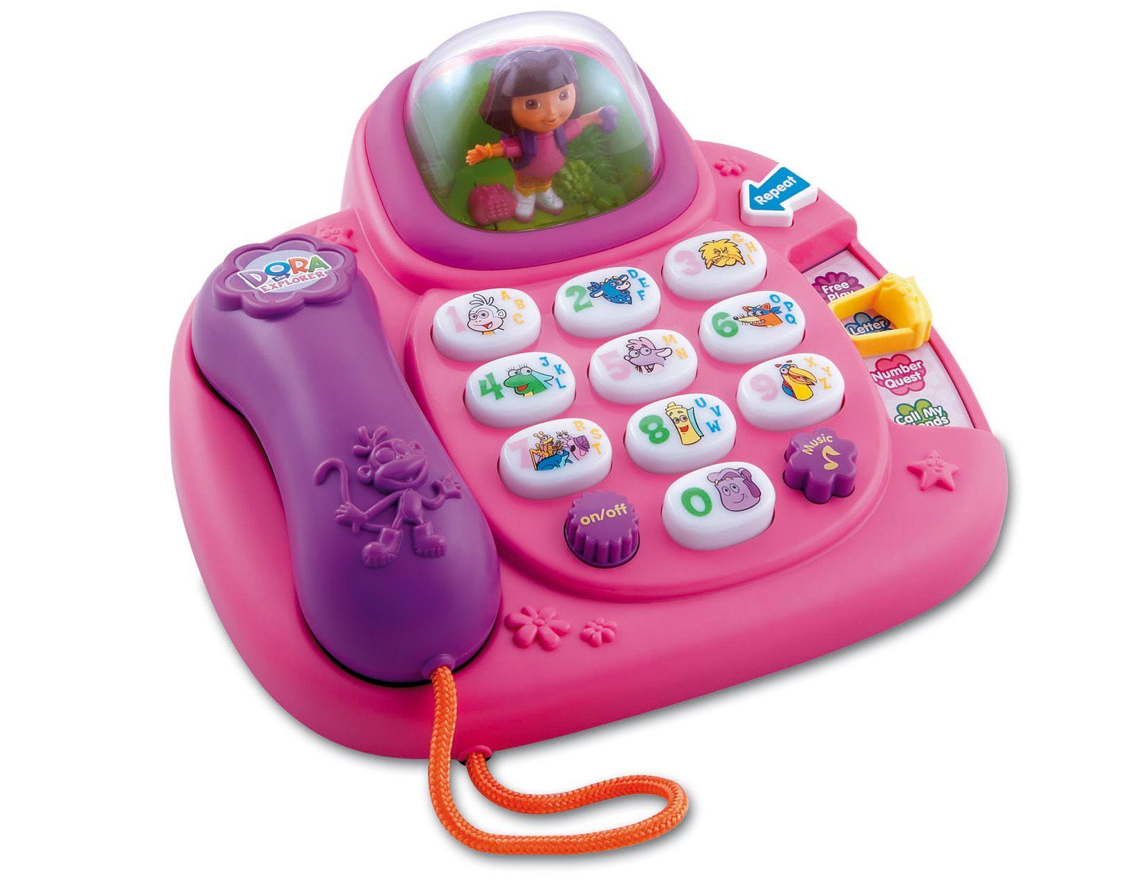 Dora learning phone toddler girl toys dora the explorer