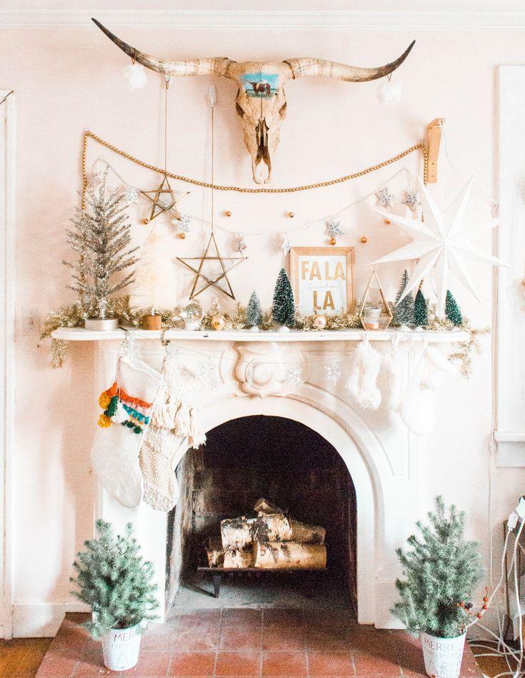Cozy Fireplace Inspiration And Christmas Mantel Decor -   15 holiday Decorations mantel ideas
