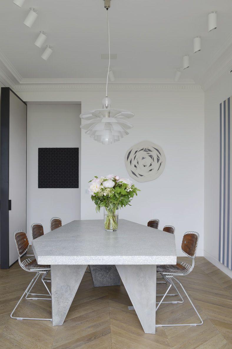 Parisian Dining Room Endearing Tristan Auer's Parisian Masterpiece  Rue  Dining Rooms Inspiration Design