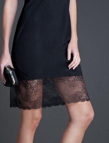 women'secret | Productos | Vestido lencero con puntilla