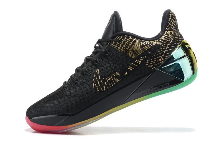 c9d4de3fd387 Acheter Newest Kobe AD Rise and Shine Iridescent Gold Black Rainbow ...