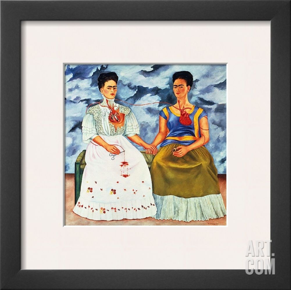 The Two Fridas C 1939 Framed Art Print By Frida Kahlo At Art Com Kahlo Paintings Framed Art Prints Art Prints