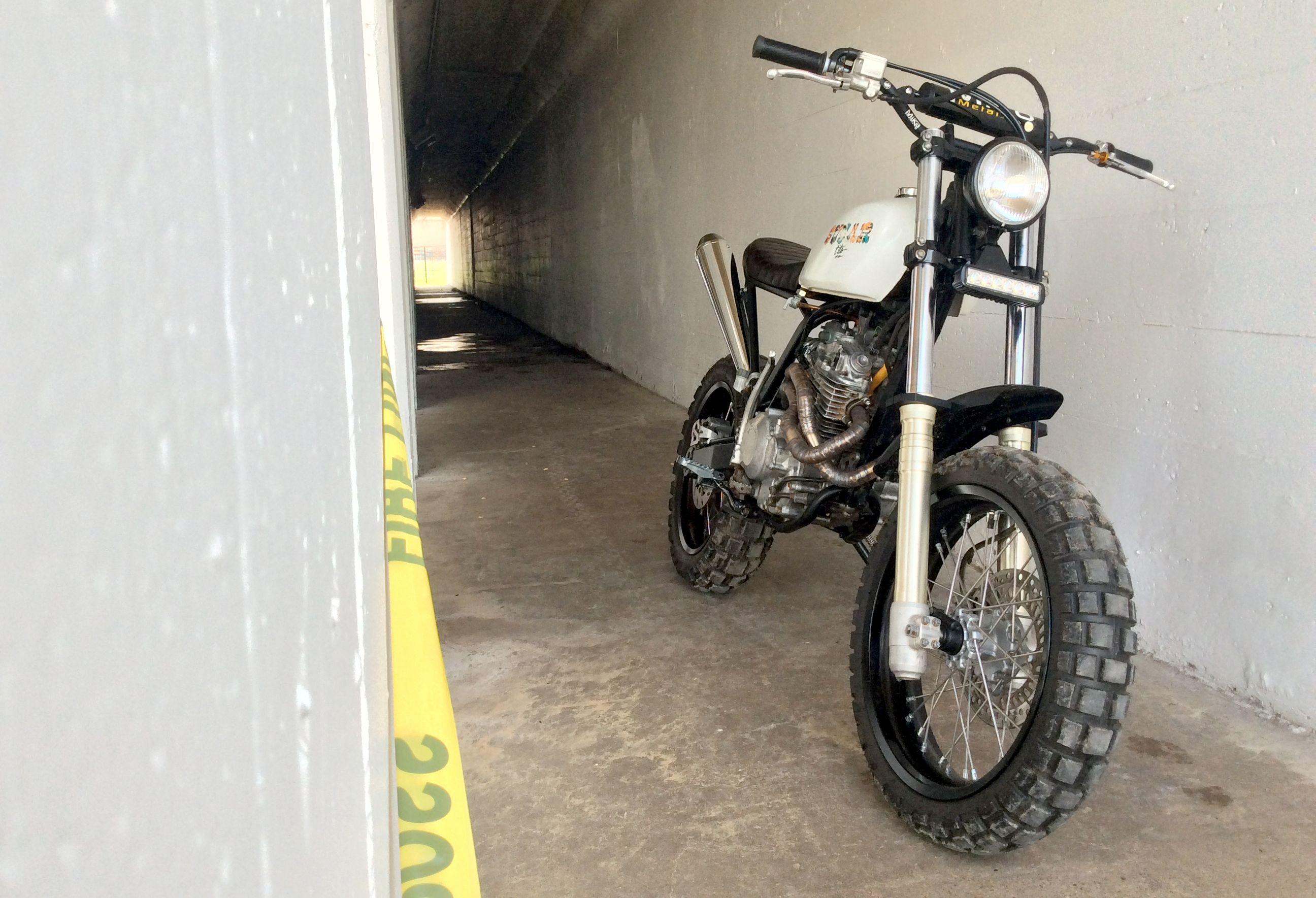 Hondaxrbuild Scrambler Tracker Xr250 Street Tracker Custom Build Motorcycle Dirt Bike Honda Cafe Racer Cafe Style Custom Motorcycles Scrambler