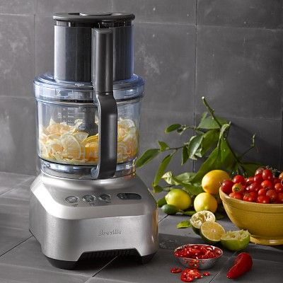 Breville Sous Chef Food Processor 16 Cup Williamssonoma Atk Likes But Goes With Cuisinart 14cup Bec Food Processor Recipes Cuisinart Food Processor Breville