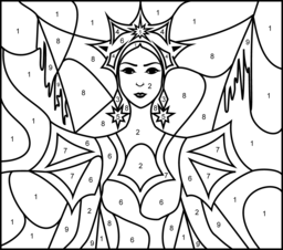 Princesses Coloring Pages Princess Coloring Pages Coloring Pages Snow Queen