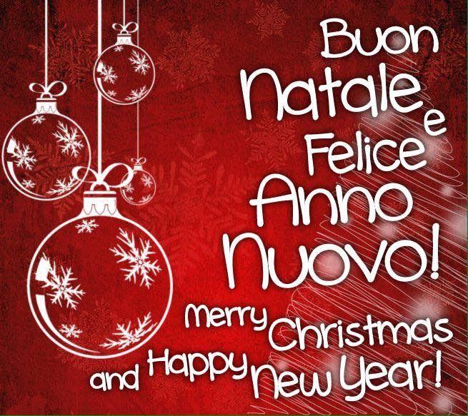 Buona Natale  e buon anno  nuovo