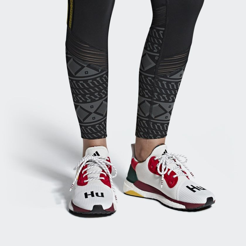 8bb5538d1 Pharrell Williams x adidas Solar Hu Glide ST Shoes Red CG6776