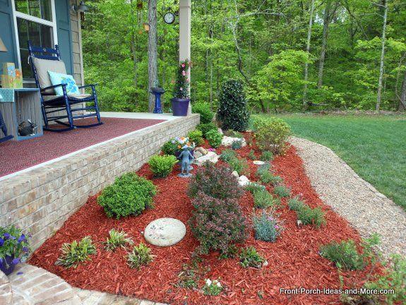 Front Yard Landscape Makeover Front Lawn Landscaping Porch