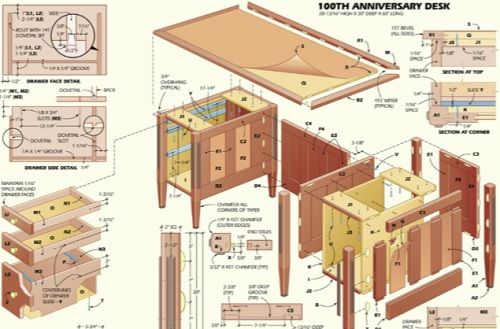 Executive Desk Woodworking Plans Mar 9 2014 A Quick Video Of The Build  Process Of A Classic Antique Stickley Desk Check Us Out On Facebook  Custommade Com ...