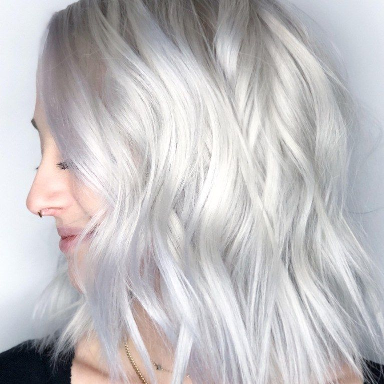 The Baby White Hair Color Trend Is So Blonde It S Practically