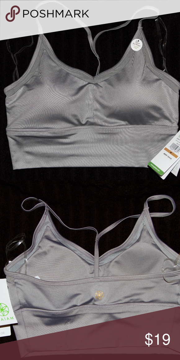 4b0d1c5a7f GAIAM Shiva Shine Yoga Sports Bralette NWT New With Tags (NWT) GAIAM Bra