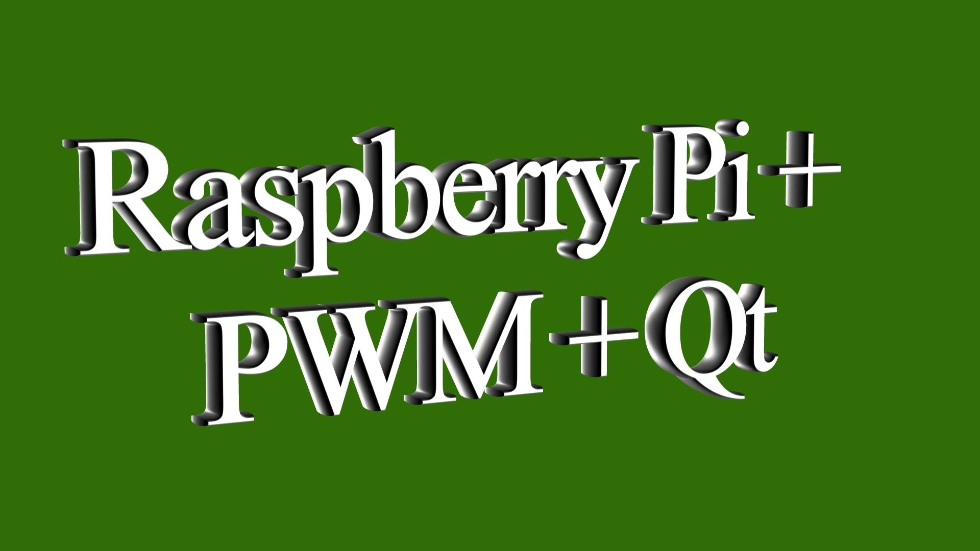 Raspberry Pi Pwm Qt Pinterest Software Wiringpi Example Python