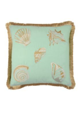Waverly  SHORE THING  18 EMBROIDERED DEC PILLOW