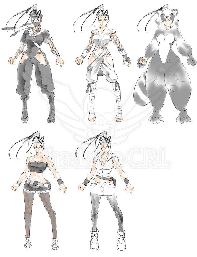 ibuki street fighter 5 costume designs image 2 fighting games