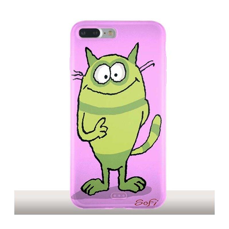 coque silicone iphone 7 verte