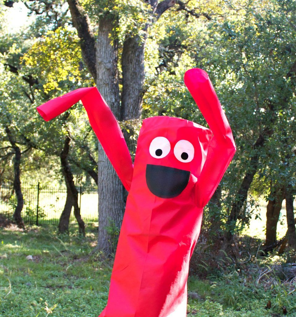 Inflatable Tube People Costume DIY Fairfield World Craft