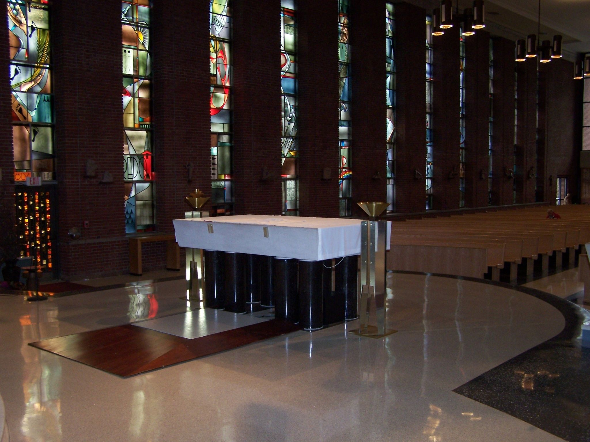 St. Peter Catholic Church, Kirkwood, MO Taper candle