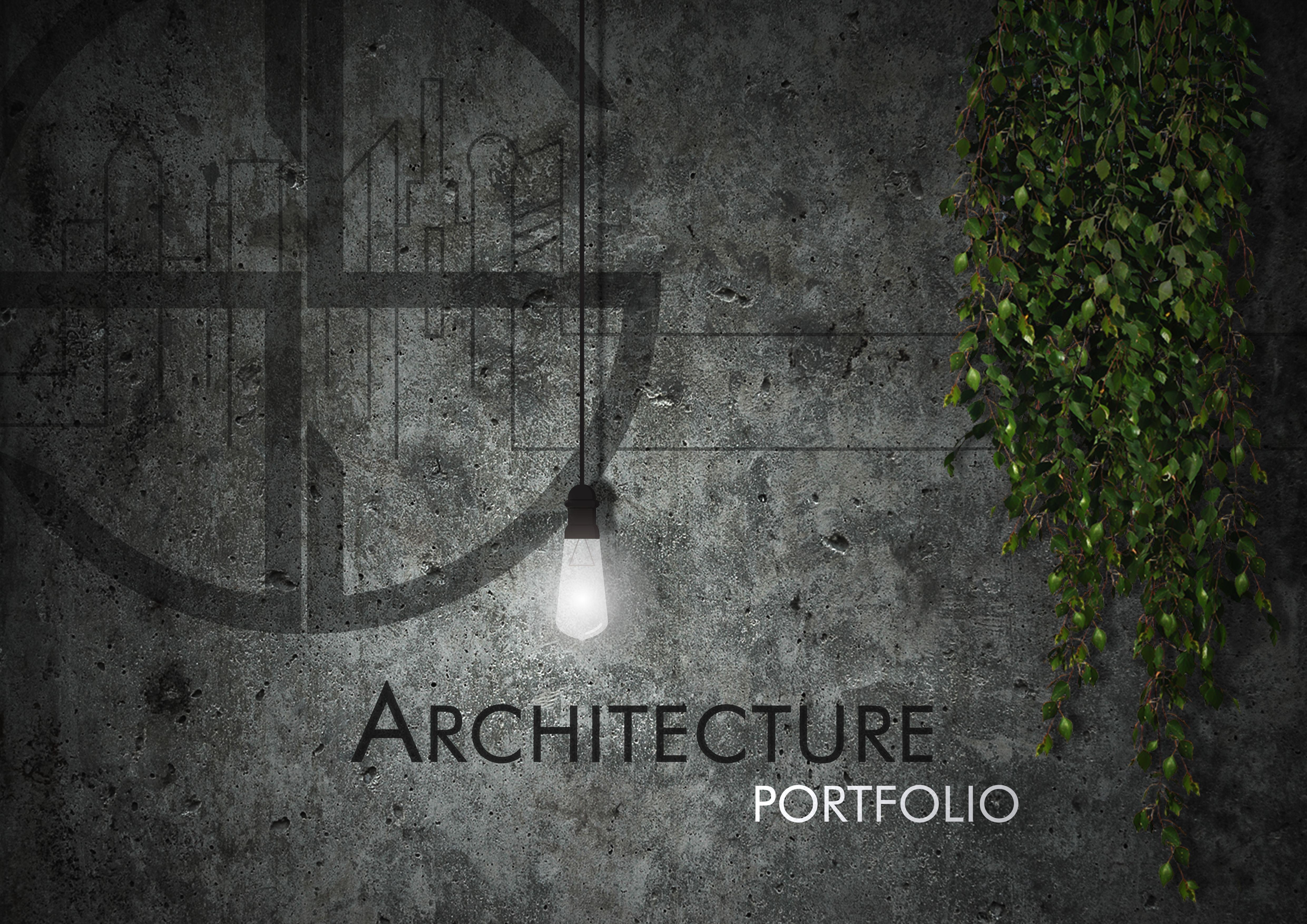 cover page of portfolio 2018