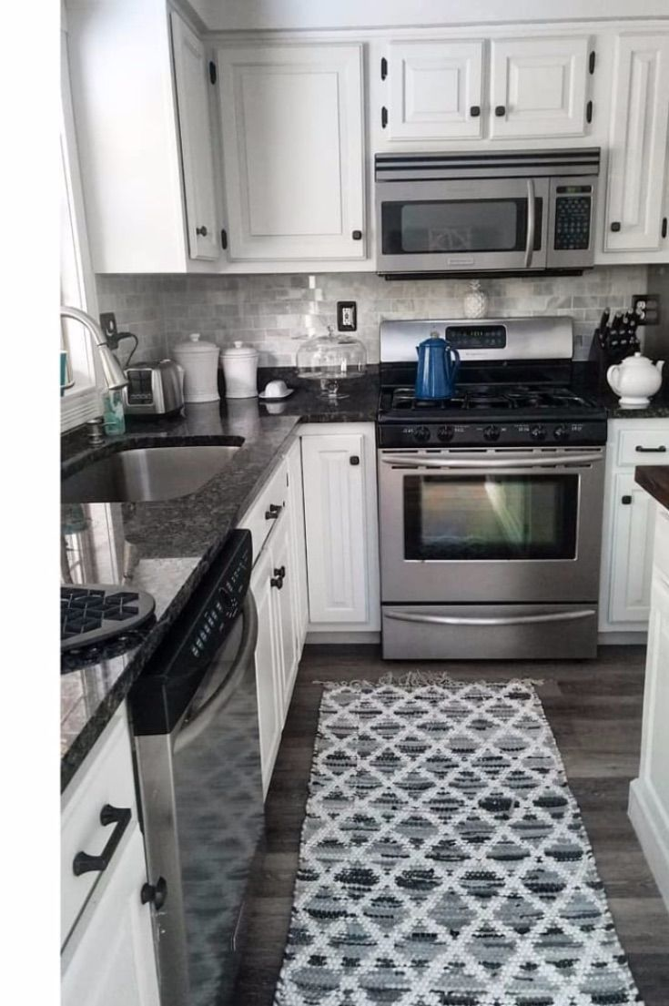 19 Rugs In Kitchen Ideas To Help Update Your Look Picking A Kitchen Rug Is A Great And Inexpensive Decor I Kitchen Rug Kitchen Rugs Washable Kitchen Area Rugs