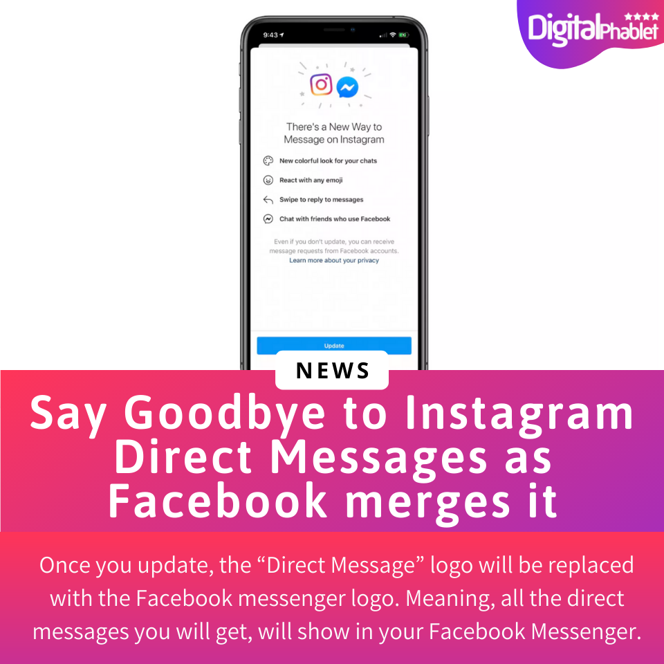 Say Goodbye To Instagram Direct Messages Instagram Direct Message Message Logo Instagram Message