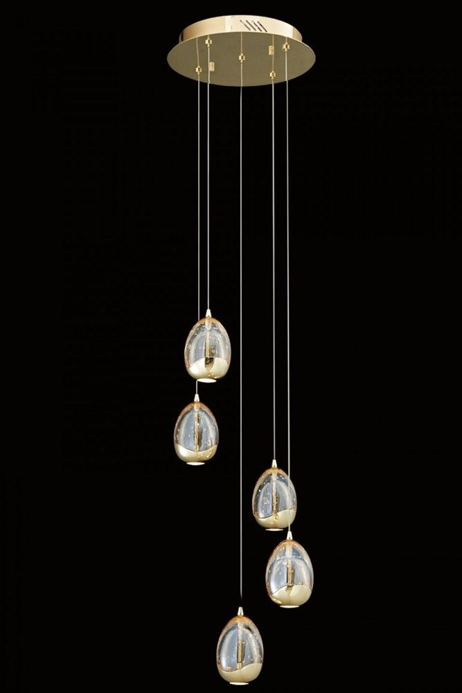 Terrene 5 light led cluster pendant ceiling light in gold from terrene 5 light led cluster pendant ceiling light in gold from lights 4 living aloadofball Choice Image