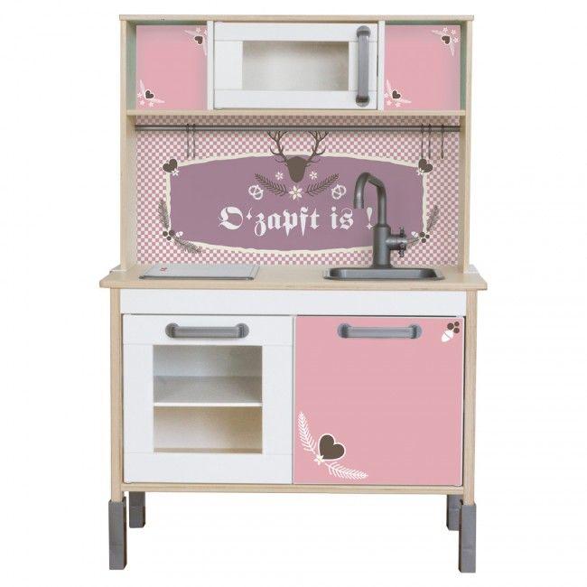 Wiesngaudi für IKEA Kinder Küchen - Farbe Rosa - küchen von ikea