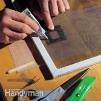 Screen Door Repair: Storm Door Repair | The Family Handyman #familyhandymanstuff