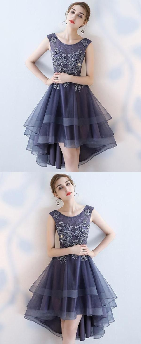 Lace prom dresses cute prom dresses high low prom dresses
