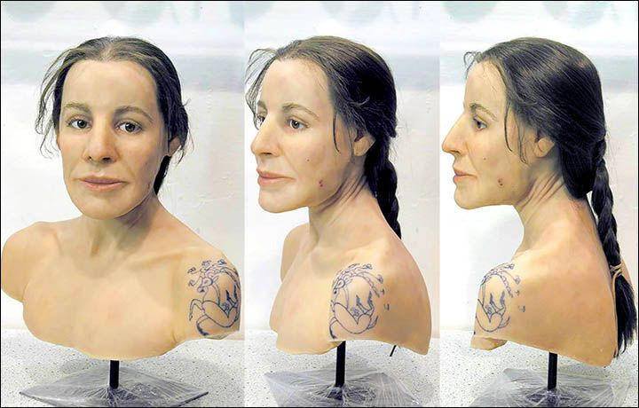 """Is this the face of an ancient Amazon female warrior?"" [Siberian Times]. 