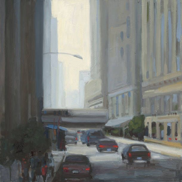 While Kim continues to enjoy working in a representational style, she is also exploring a contemporary direction in her most recent paintings.