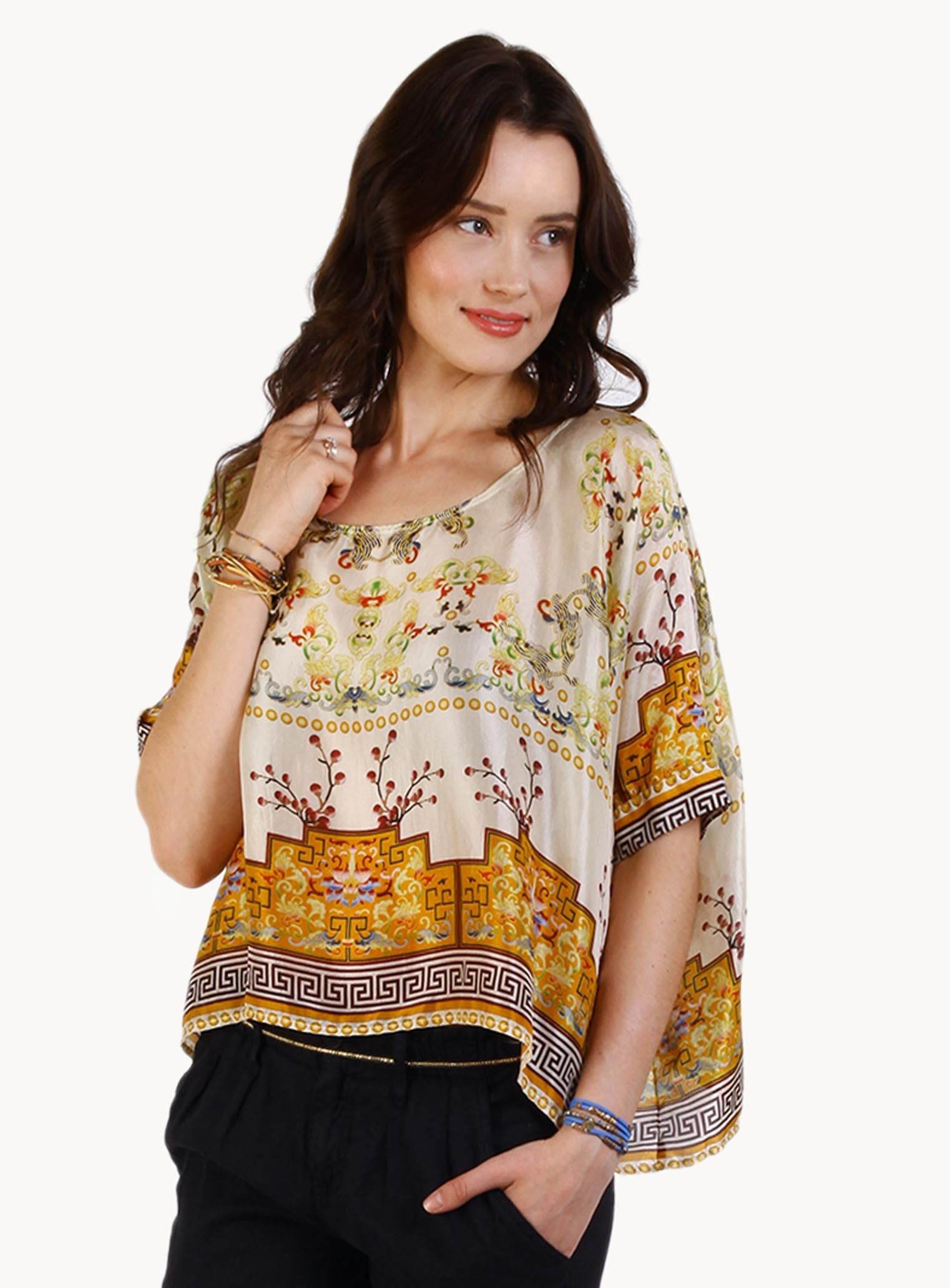 Asia poncho johnny was collection at galatea boutique pretty